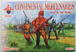 Red Box 1/72 RB72042 Continental Mercenaries (War of the Roses)